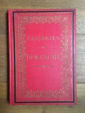 Livre Ancien Causeries du Dimanche - première série - Maison de la bonne presse