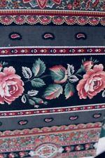 Cotton Quilt Fabric Cranston Rose Border Print 2 Pieces