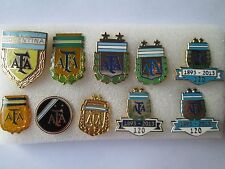 b1 lotto 10 spille ARGENTINA football federation association team pins lot