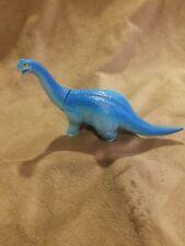 Vintage 1988 Playskool Definitely Dinosaur Blue Apatosaurus Wendy's Happy Meal
