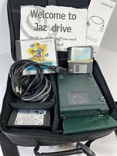 IOMEGA JAZ POWERED EXTERNAL DRIVE V1000S WITH Case and Cables