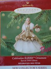 "Hallmark-- 2000~~""FIRST""  in the ""CELEBRATION BARBIE""-  Ornament SERIES- Dated"
