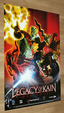 Legacy of Kain Defiance rare Promo Poster 84x59cm PlayStation 2 Xbox