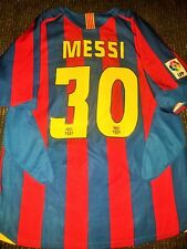 Authentic Messi Barcelona Jersey 2005 2006 Shirt Camiseta Maglia Trikot M