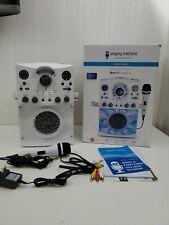 Singing Machine SML385BTW Karaoke System w/ LED Disco Lights,CD+G,and Microphone