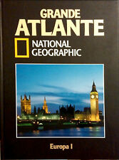 GRANDE ATLANTE DI NATIONAL GEOGRAPHIC. EUROPA I