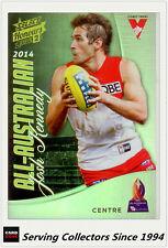 2015 Select AFL Honours S2 All Australia Team Card AA8 Josh Kennedy (Sydney)
