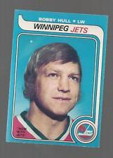 1979-80 O PEE CHEE HOCKEY BOBBY HULL #185 HOF WINNEPEG JETS NM-M