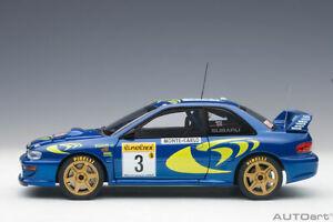 1/18 Autoart 89790  SUBARU IMPREZA WRC 1997 #3 COLIN MCRAE/NICKY GRIST (M CARLO)