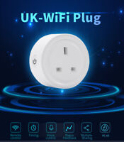 UK Plug Wireless WiFi Smart Socket Mobile Remote Control eWeLink APP Timing Plug