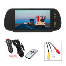 7 inch TFT LCD HD Screen Monitor For Car Rear View Reverse Backup Parking Camera