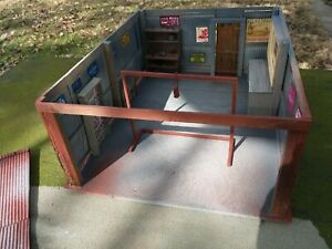 1:24 1:25 G Scale Garage Tool Shed Work Shop Diorama Built Building      A1