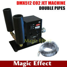 Double Pipe Stage CO2 Machine DMX 512 Switchable CO2 Column Jet  Concert Device