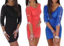 Vestidos de mujer Mini color principal negro encaje