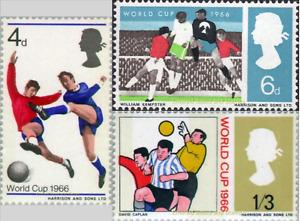 EBS Great Britain 1966 - World Cup Football Championship  - SG 693-695 MNH**