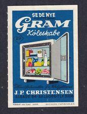 Denmark Poster Stamp  GRAM REFRIGERATORS