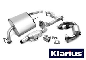 Klarius Rear Exhaust Back Box Silencer + Tail Pipe VW881P - 5 YEAR WARRANTY