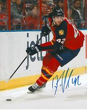 QUINTON HOWDEN signed FLORIDA PANTHERS 8X10 photo w/ COA