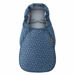 Brand New Maxi Cosi Cabriofix Car Seat Footmuff in Denim Heartsl RRP£50.00