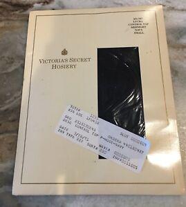 ViNTaGe Victoria's Secret Navy Blue Lycra Control Top Pantyhose Stockings  S