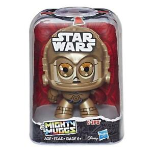 IN STOCK! Disney Star Wars Mighty Muggs C3PO by Hasbro