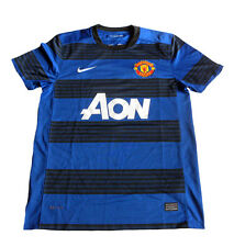 2011/2012 Manchester United Away Shirt Jones #4 Nike Jersey