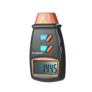 Digital Photo Tachometer  Berührungslose Reichweite 2,5 -99,999 RPM U9K9