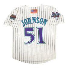 Randy Johnson 2001 Arizona Diamondbacks Alt Home Jersey para hombre de la Serie Mundial