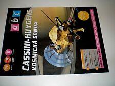 Space probe Cassini - Huygens Czech rare Paper Model 1 : 48