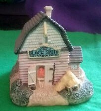 Vintage Stubb's Blacksmith & Saddlery Building Liberty Falls Collection 1992