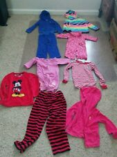 Girls Mixed Clothing Lot of 9 pieces Size 3/6 months  2 - 3/4 years Multi-Color