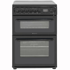 Hotpoint HAE60KS Newstyle Free Standing Electric Cooker with Ceramic Hob 60cm