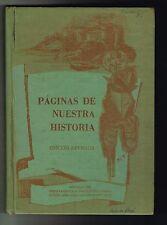 Paginas De Nuestra Historia 1973 DIP Testo Estudios Sociales Puerto Rico
