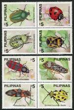 Philippines 2677-2678 Bl/4, MI 3175-3182, MNH. Insects:Beetle,Bug,Ladybird,2000