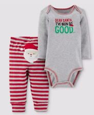 Baby 2pc Dear Santa Ive been so good set - Just One You by Carters. Red 9M