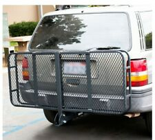 "US SELLER 60"" Folding Truck Car Cargo Carrier Basket Luggage Rack Hitch 2"" Hitch"