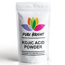 Kojic Acid 99% Powder, Skin Lightening Fading DIY Cream Lotion Soap Serum