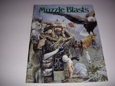 MUZZLE BLASTS Magazine, June, 1998, MUSEUM OF THE FUR TRADE, HALFSTOCKS!