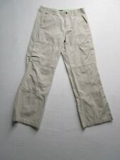 Tommy Hilfiger Womens 16 Beige Pants Multi Jointed Seems Pockets Casual Nice
