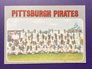 Pittsburgh Pirates Team 1970 #608 Topps Baseball Card - Fair Plus - Your Call