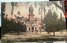 PASADENA, CALIFORNIA, M. Rieder Hand Colored Post Card 1909 WILSON SCHOOL