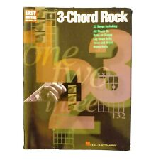 3-Chord Rock-Easy Guitar With Notes And Tab By Hal Leonard