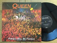 "QUEEN: Friends Will Be Friends  3 X Track 12"" Vinyl Single  Free UK Post"