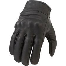 Z1R Men's Black 270 Gloves  Motorcycle Gloves Harley  Cruiser Leather -Pick Size