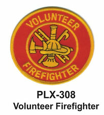 VOLUNTEER FIREFIGHTER PATCHES  4""