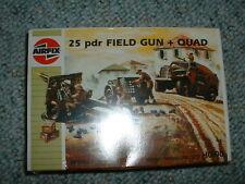 Airfix 1/72 HO 25 pdr Field Gun + Quad