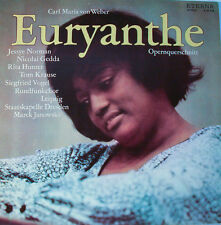 """EURYANTHE - CARL MARIA VON WEBER - MAREK JANOWSKI  12"""" LP (L130)"""