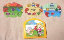 FISHER PRICE InteracTV DVD Replacement CASE ACTIVITY CARDS Clifford's Puppy Days