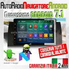 "AUTORADIO 9"" ANDROID 7.1 *Full Touch* BMW Serie 5 E39 X5 E53 520 D 530 525 DAB -"
