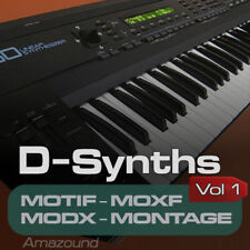 D50 SAMPLES for YAMAHA MOTIF ES XS XF MOXF MODX MONTAGE KEYMAPS READY TO PLAY